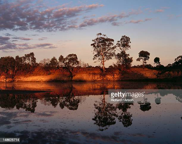 Sunset over the Murray River - Murray-Kulkyne State Park, Victoria