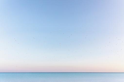 Sunset over the sea - gettyimageskorea