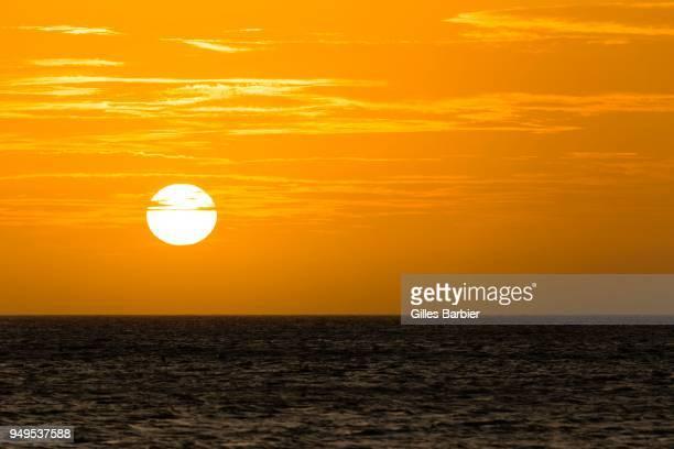 Sunset over the Sea, Punta Gallinas, La Guajira, Colombia