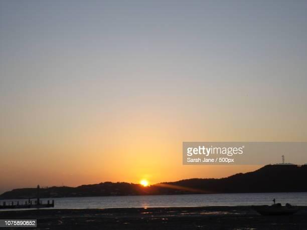 Sunset over Thursday Island