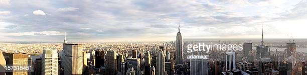 NYC Sunset Panorama