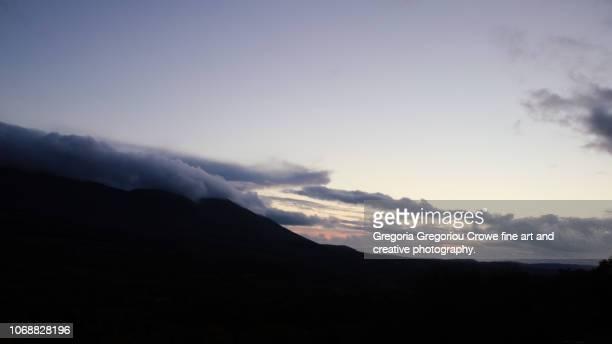 sunset - gregoria gregoriou crowe fine art and creative photography - fotografias e filmes do acervo