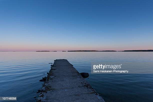 sunset - espoo stock pictures, royalty-free photos & images