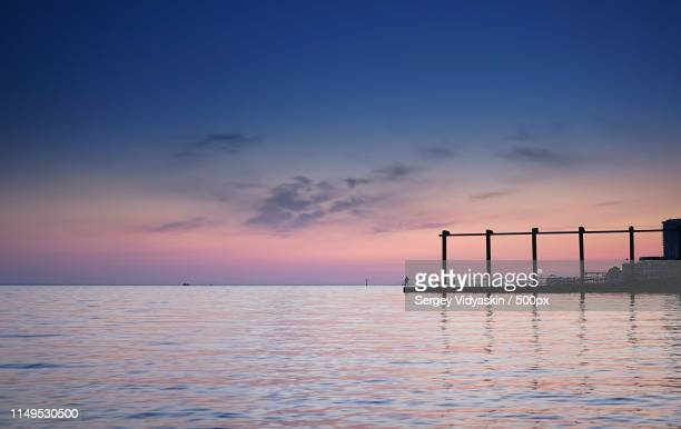 sunset - sotsji stockfoto's en -beelden