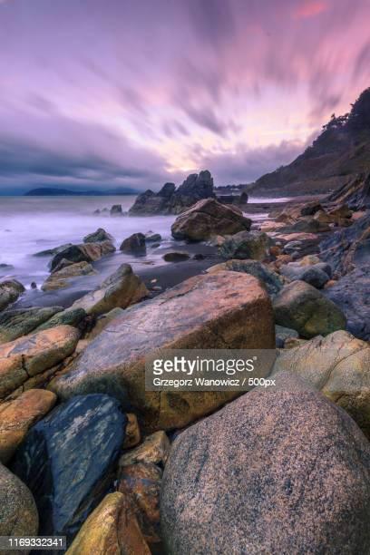 sunset - dalkey stock pictures, royalty-free photos & images