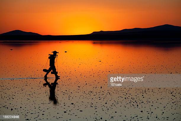 sunset - vietnam stock pictures, royalty-free photos & images