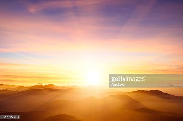sunset - morning stock pictures, royalty-free photos & images