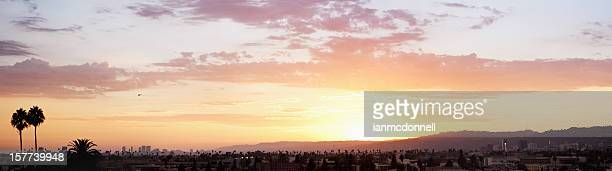 la sunset - hollywood california stock pictures, royalty-free photos & images