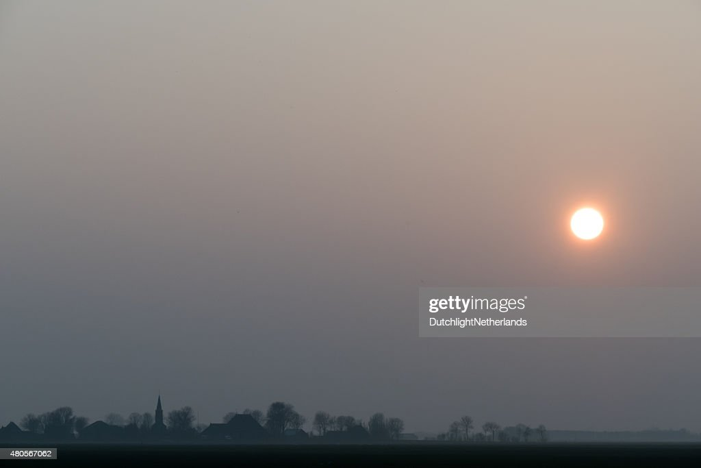 Sunset. : Stock Photo