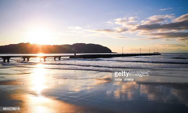 Sunset & pier