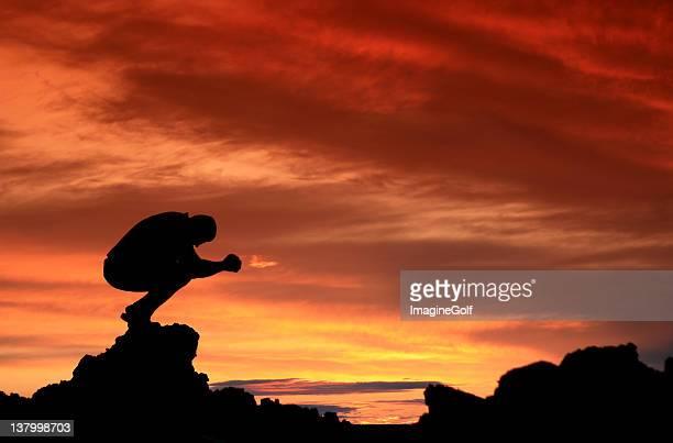 atardecer de oración - los siete pecados capitales fotografías e imágenes de stock