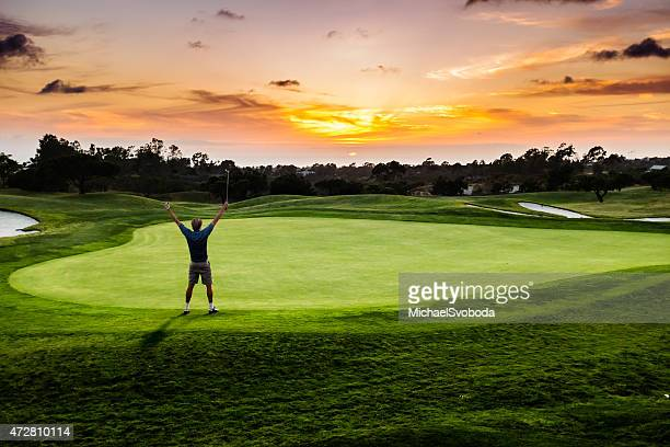 Sunset Putter Celebration