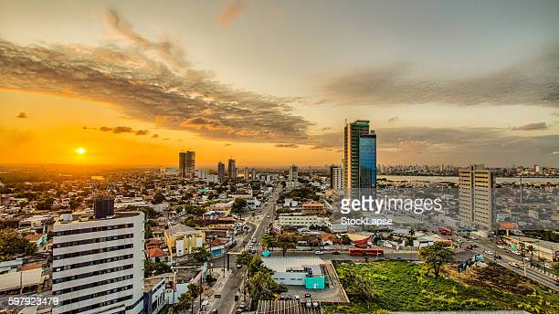 sunset - recife - recife stock pictures, royalty-free photos & images