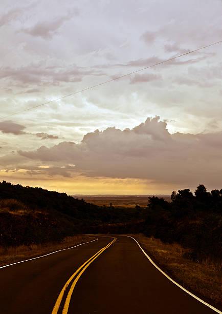 sunset road...