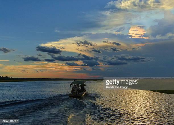 Sunset Safari, Chobe NP, Botswana