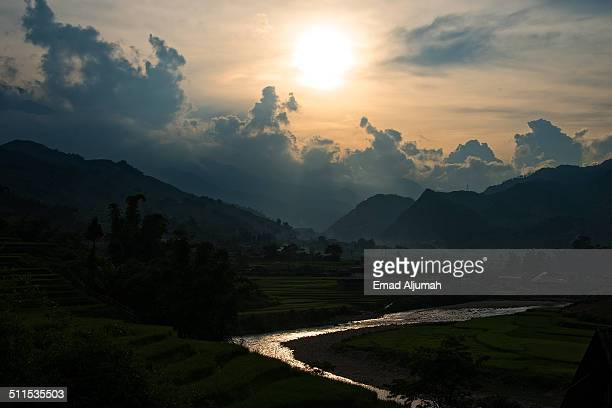 Sunset, Sapa Vietnam