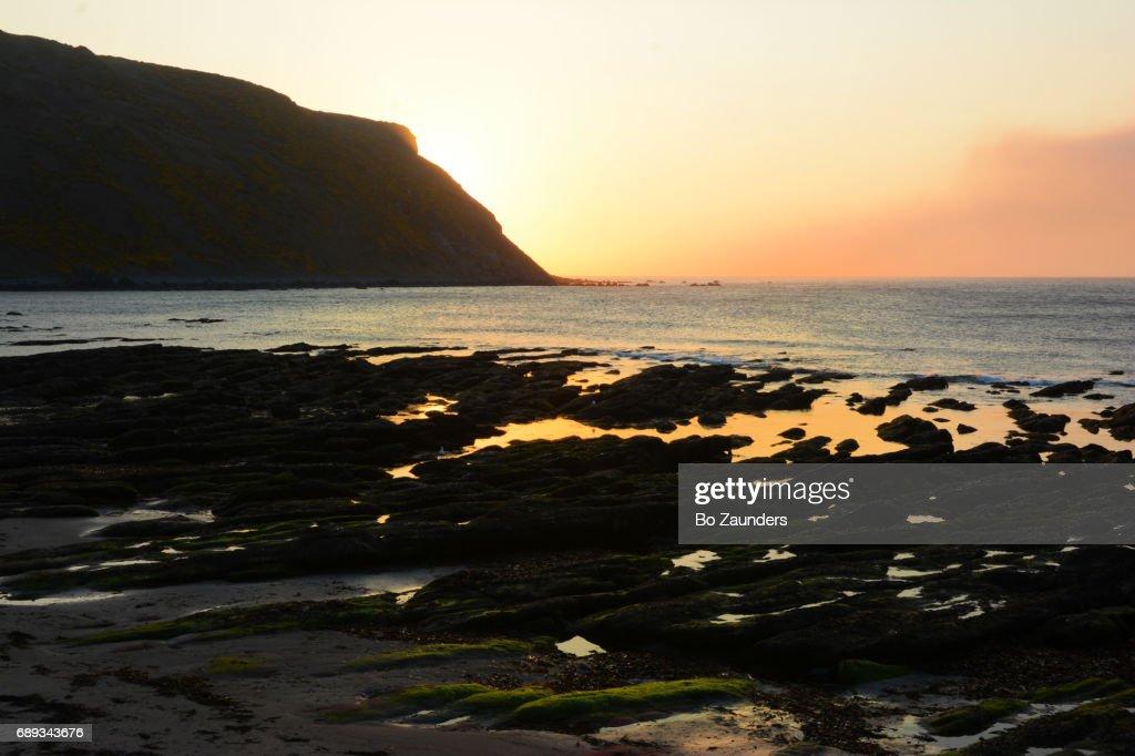 sunset, Scotland Coast : Stock Photo
