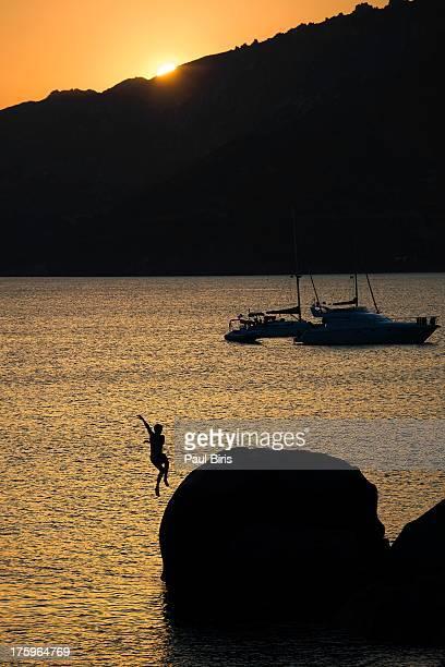 Sunset Silhouettes Spiaggia del Riso
