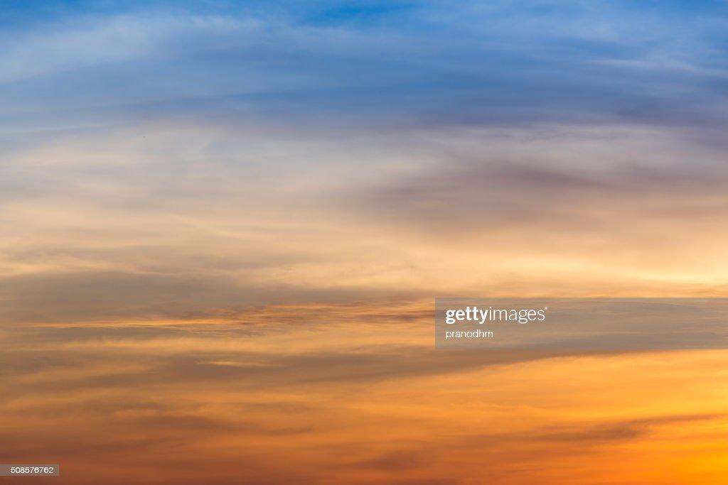 sunset sky background : Stockfoto