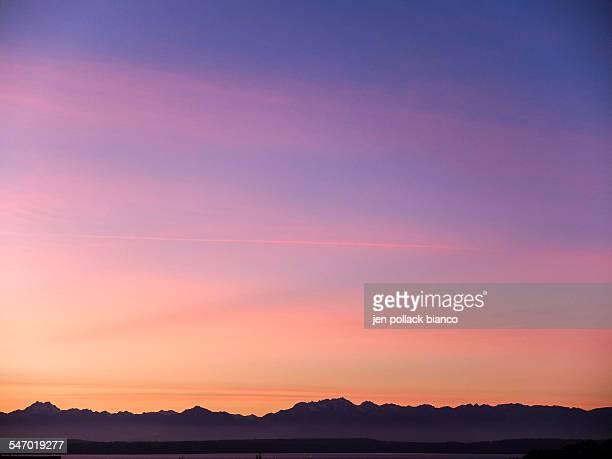 Sunset Sky over Elliot Bay