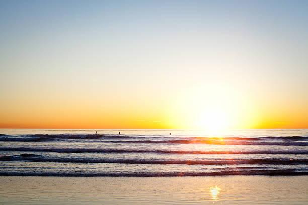 Sunset Surfers Wall Art