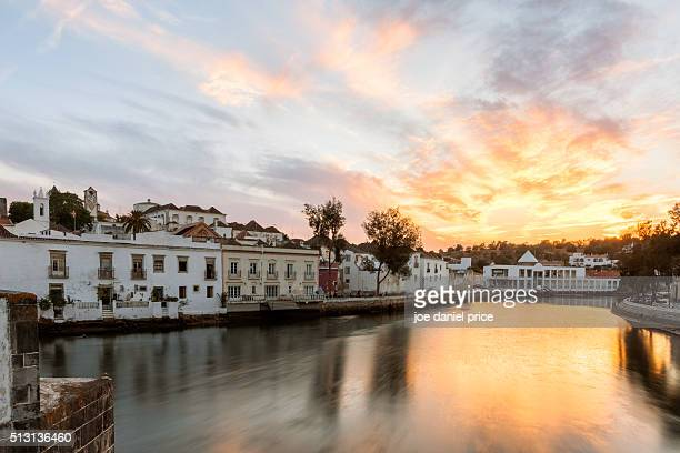Sunset, Tavira, Algarve, Portugal