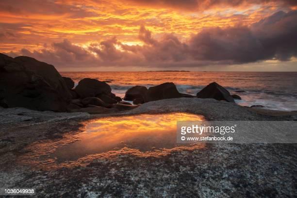 Sunset Uttakleiv Beach IV
