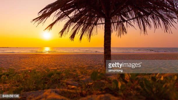 Sunset View at Kuta Beach, Indonesia