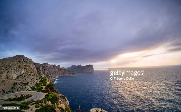 Sunset view from Formentor Lighthouse