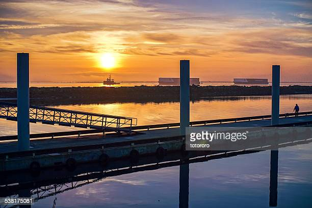Sunset View from Steveston Fisherman's Wharf