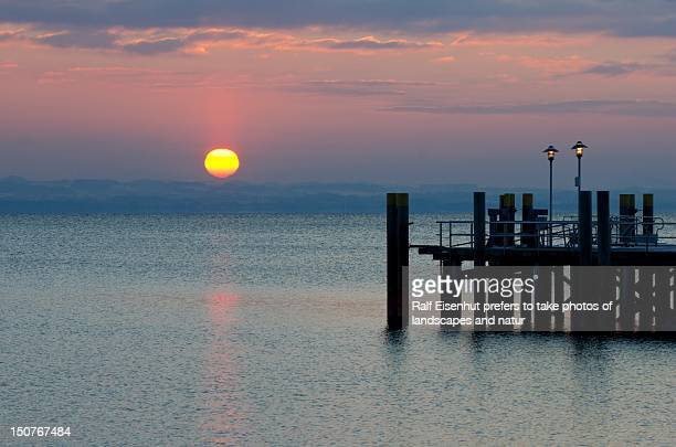 sunset view - natur stock pictures, royalty-free photos & images