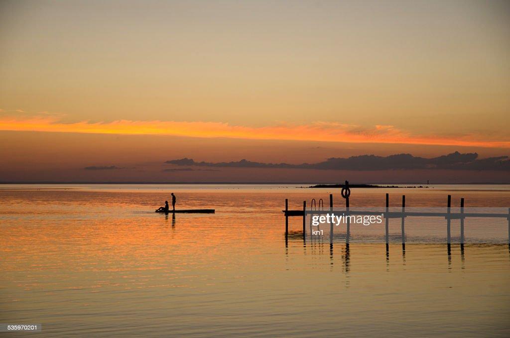 Sunset view : Stock Photo