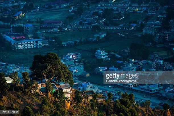 sunset view Pokhara
