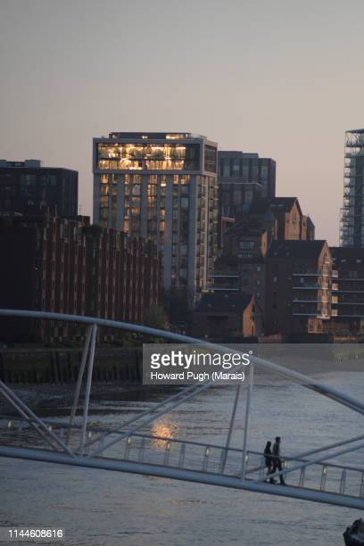 Sunset Views From Vauxhall Bridges