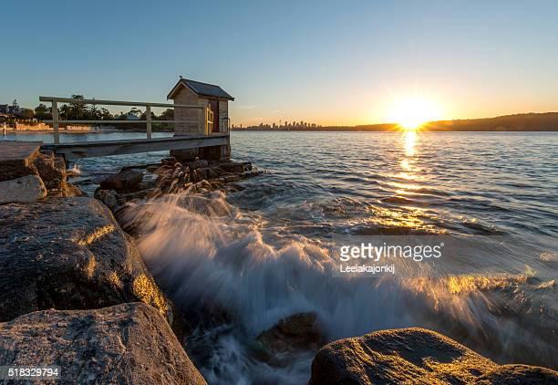 Sunset Watson bay.