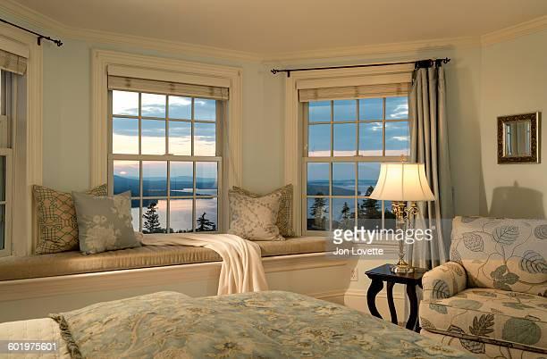 Sunset window seat