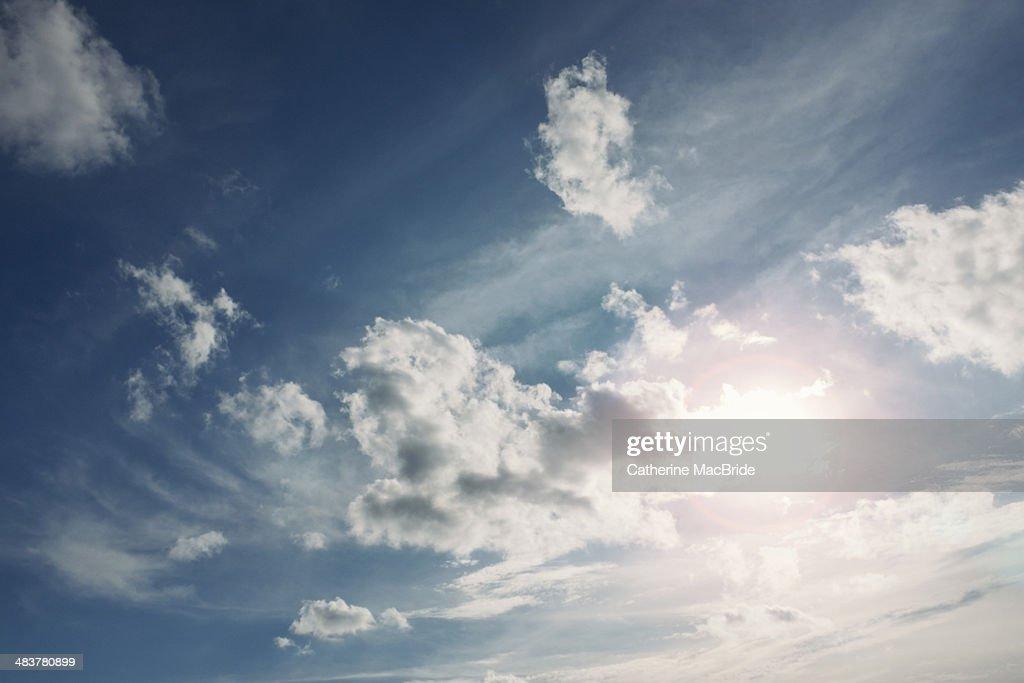 Sunshine and blue skies : Stock Photo