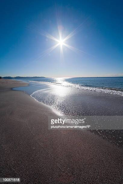 sunshine and ocean - plusphoto stock pictures, royalty-free photos & images