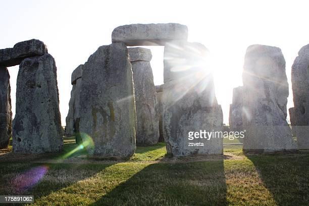Sunshine at Stonehenge, England