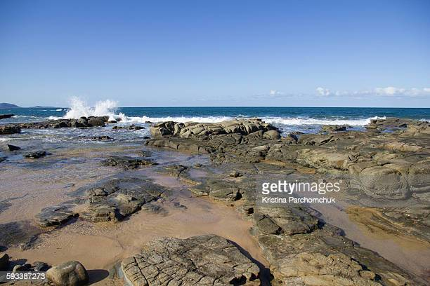 sunshine coast beach - mooloolaba stock pictures, royalty-free photos & images
