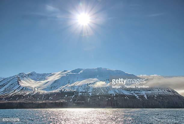 Sunshine in Eyjafjordur, Iceland
