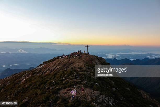 Sunshine in Pico da Bandeira - Brazil