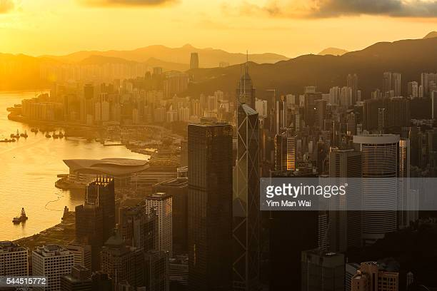 Sunshine of Central in Hong Kong
