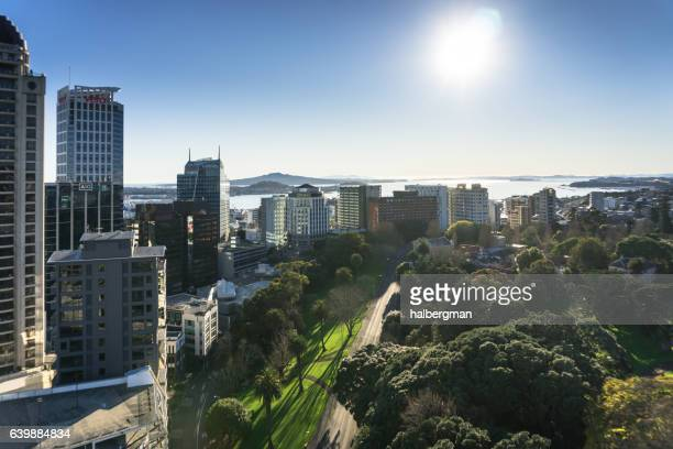 Sunshine on Auckland, Seen from Above