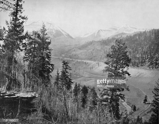 Sunshine Park and Wilson' circa 1897 Mount Wilson in the San Gabriel Mountains Los Angeles From A Tour Through the New World America by Prof Geo R...