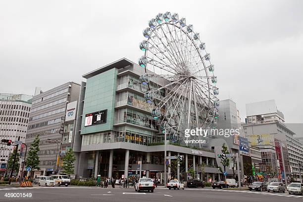 sunshine sakae in nagoya, japan - nagoya stock pictures, royalty-free photos & images
