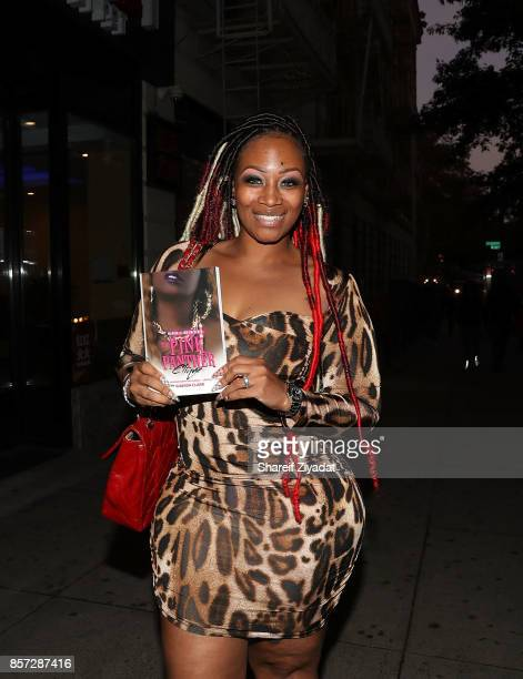 Sunshine SmithWilliams attends The Pink Panther Clique book release party hosted by Yandy Smith at Manhattan Brew Vine on October 3 2017 in New York...