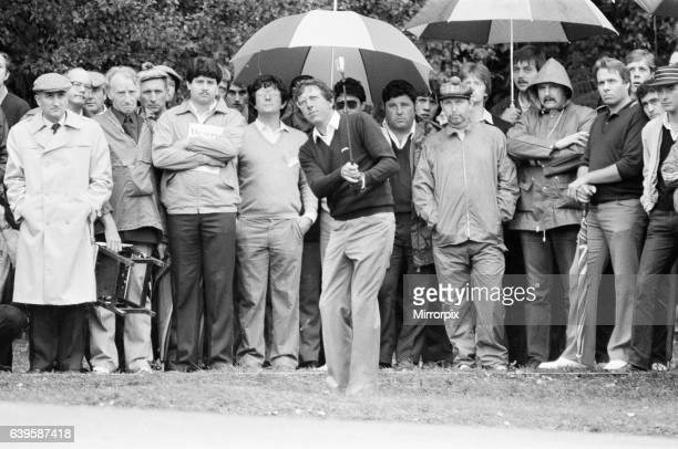 Suntory World Match Play Championship at Wentworth, Friday 7th October 1983. Hale Irwin.