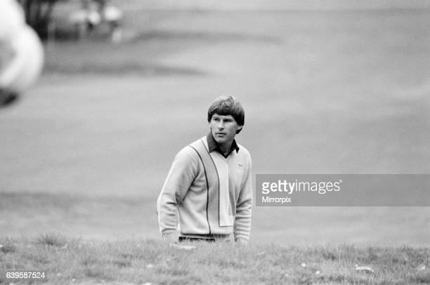 SuntoryWorld Match Play Championship at Wentworth, Friday 7th October 1983. Nick Faldo.