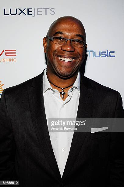 SunTrust Bank Sports Entertainment Specialty Group executive Charles Johnson attends the Primary Wave Music Publishing preGrammy party at SLS Hotel...